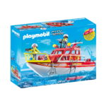City Action Πυροσβεστικό Σκάφος Διάσωση 70147 Playmobil-6
