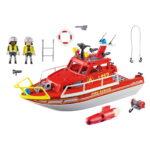 City Action Πυροσβεστικό Σκάφος Διάσωση 70147 Playmobil-7