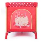KIKKABOO-Playpen Pyjama Party Red Lion 31003020033-D